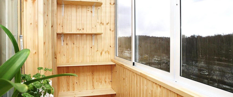 Отделка балкон и лоджии своими руками