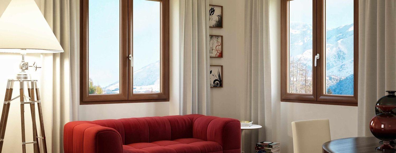 Окна для гостинной