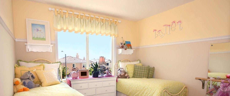 Дизайн детские комнаты для двух девочек фото дизайн