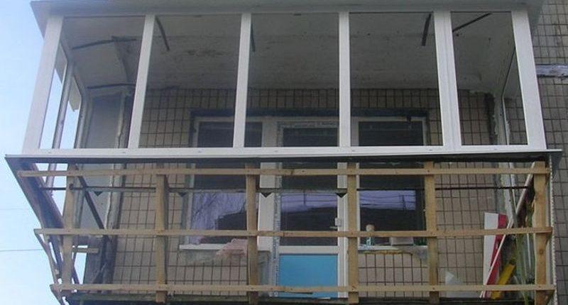Балконы,лоджии,окна и двери.: 4 900 грн. - балкони запоріжжя.