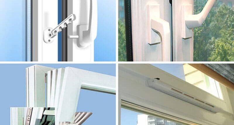 Комплектующие для окон и дверей
