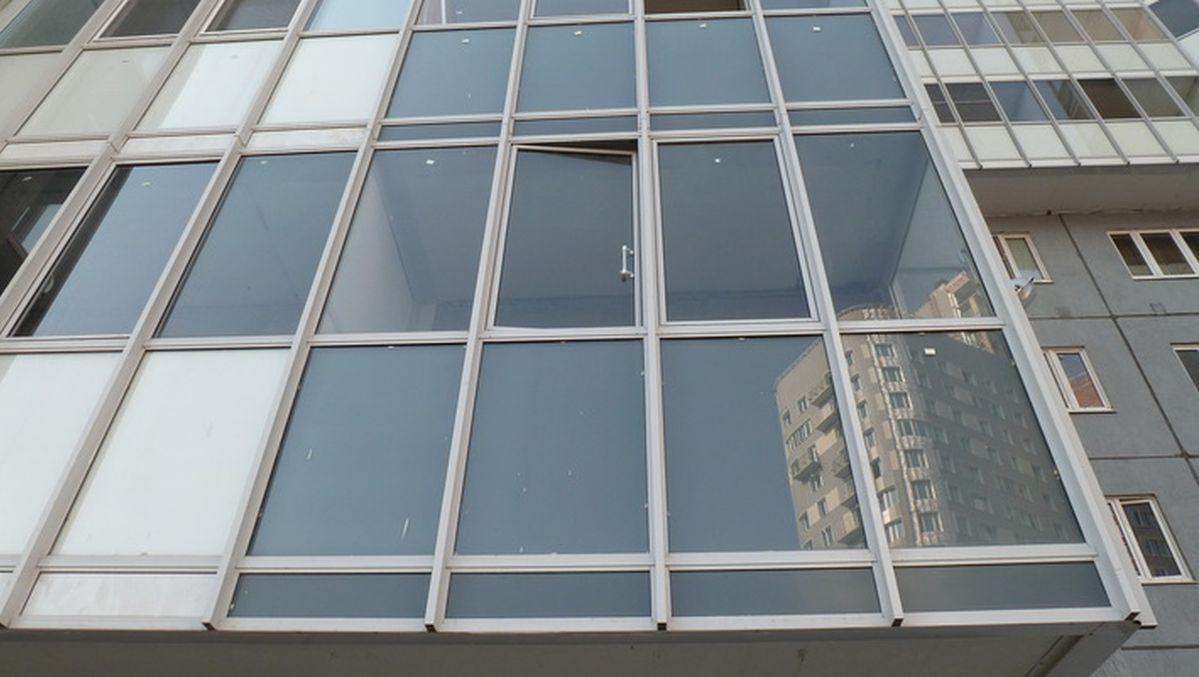 Холодное остекление балконов.