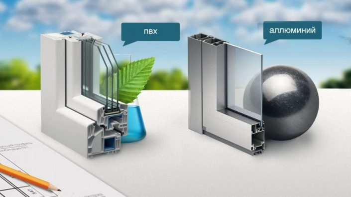 Сравнение алюминиевых и пластиковых окон