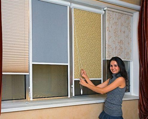 Жалюзи, рулонные шторы и другие аксессуары для окон