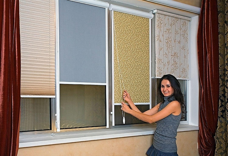 Вертикальные жалюзи на пластиковые окна цена с установкой