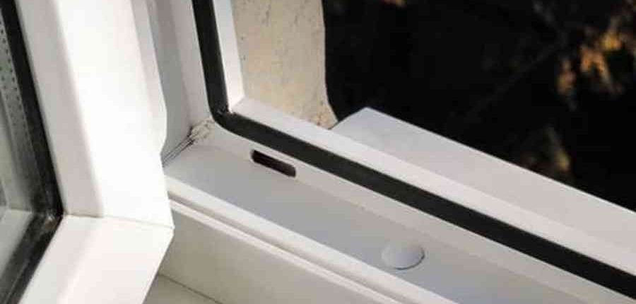 Водоотводы на окна ПВХ