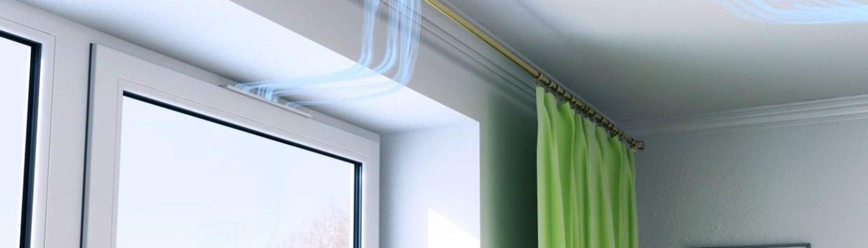 Вентиляция окна ПВХ