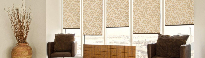 Окно как элемент дизайна - Рулонные шторы