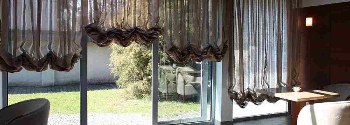 Окно как элемент дизайна - Австрийские шторы