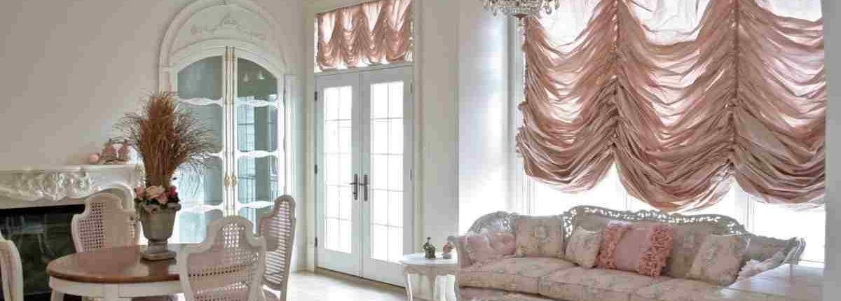 Окно как элемент дизайна - Французские шторы