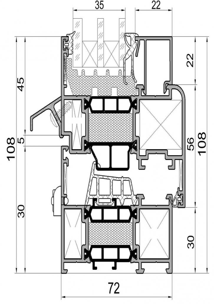 Алюминиевые окна Alutech (Алютех)