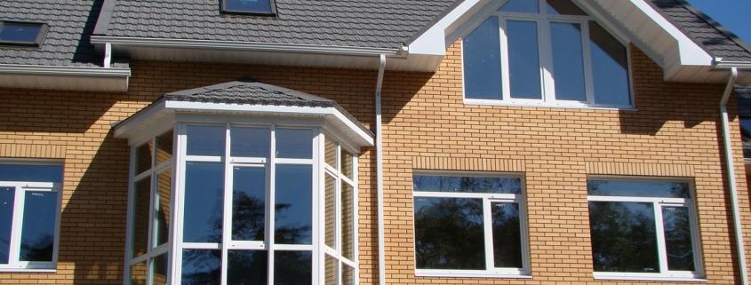 Пластиковые окна в кирпичных домах