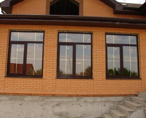 пластиковые окна в частный дом